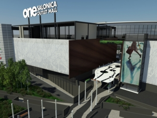 one salonica outlet shopping mall thessaloniki
