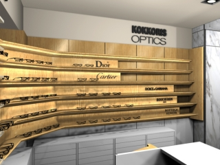kokoris optics retail store attica departments